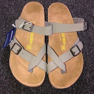 Birkenstock Mayari Gray Sandals